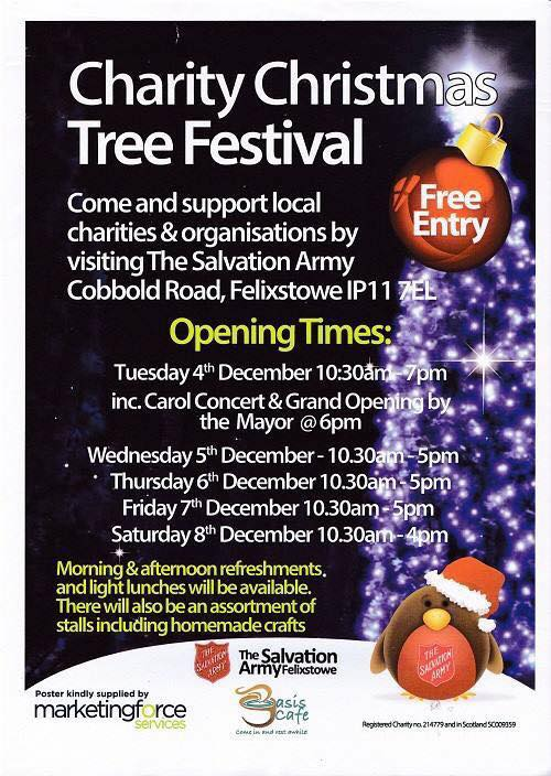 Charity Christmas Tree Festival